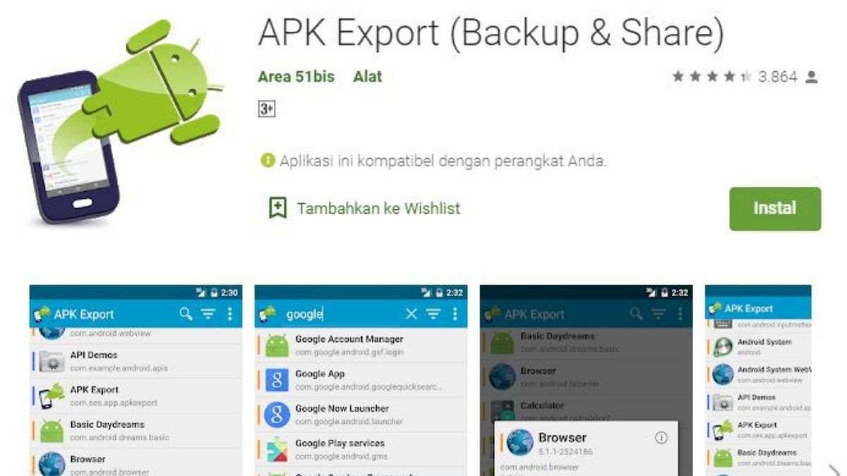 APK Export