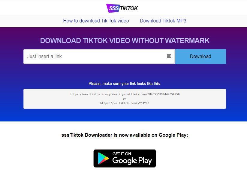 Download Tiktok Tanpa Watermark Online